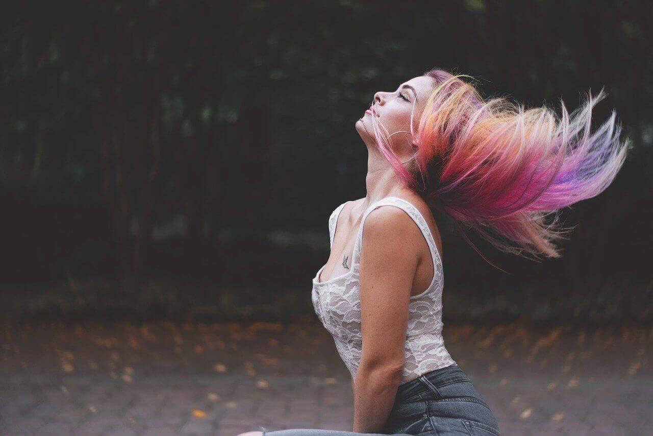 Haare färben bei Olga Davidauska